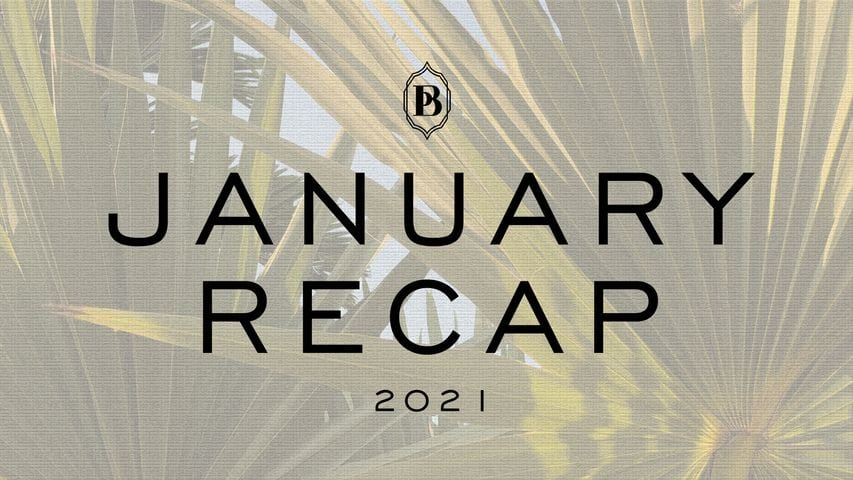 Black Pepper Resort, January Recap